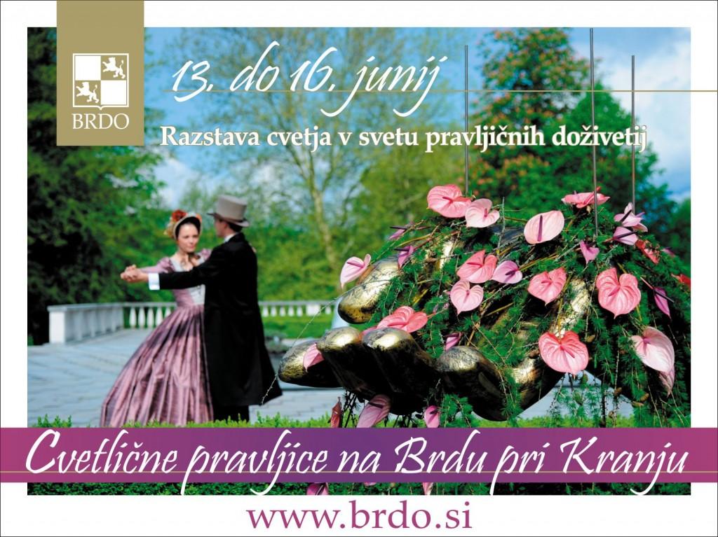 Cvetlične pravljice na Brdu pri Kranju
